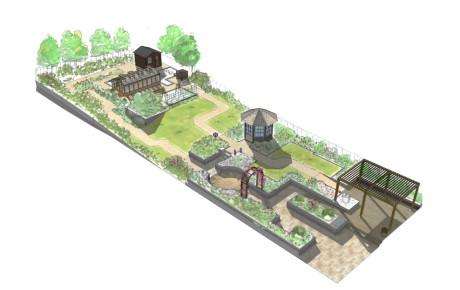 Residential Sensory Garden