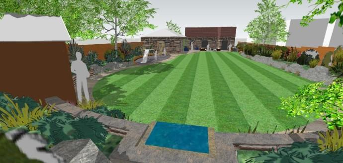 Landscape Garden Design Sheffield : Hallamgate garden weddle landscape design
