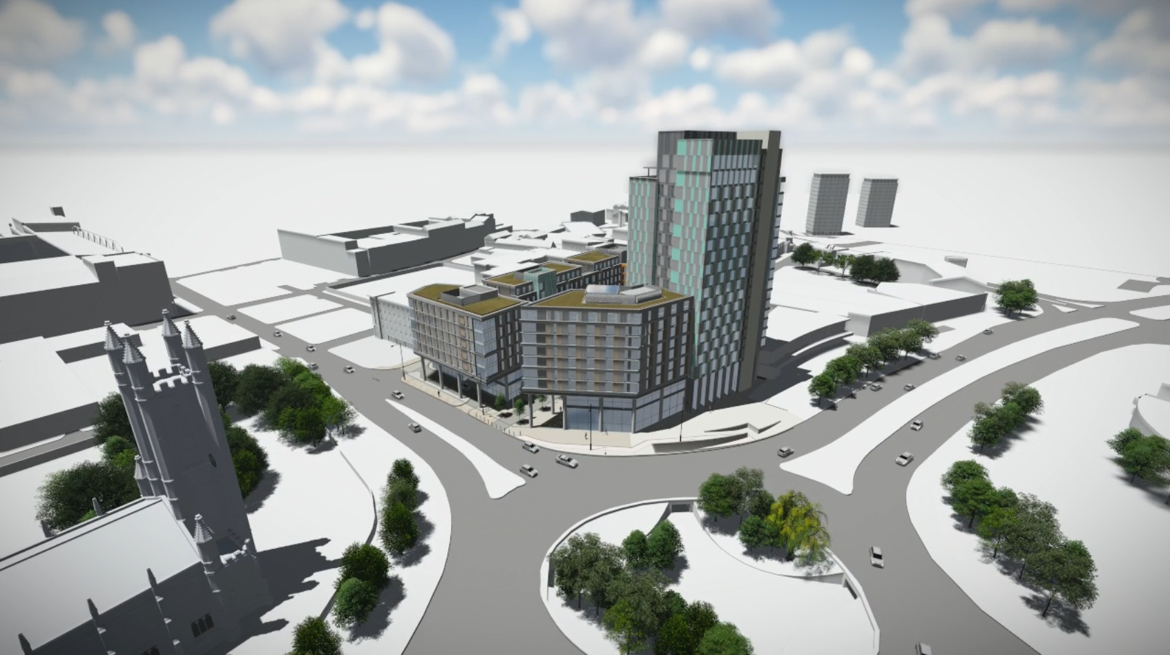 New Era Square Sheffield Weddle Landscape Design